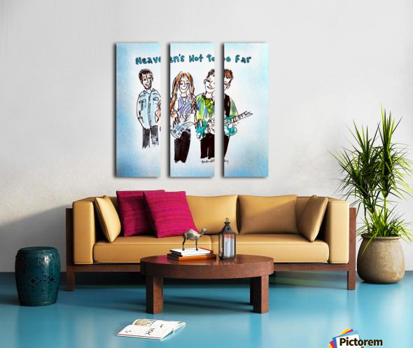 We Three - AGT 2018 Split Canvas print