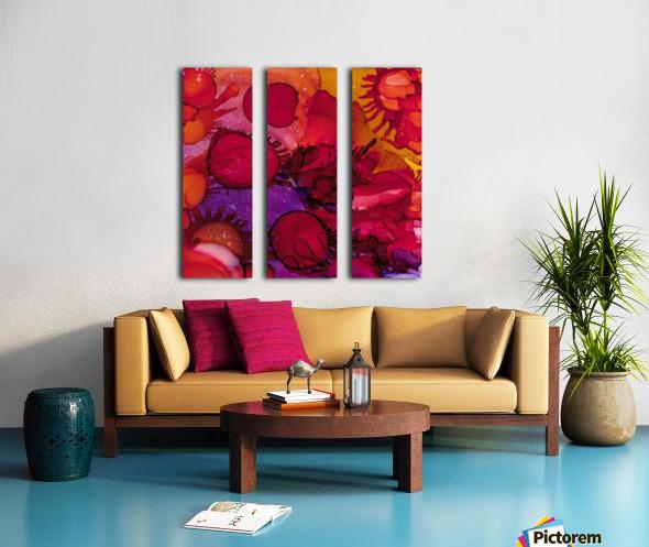 Micro Split Canvas print