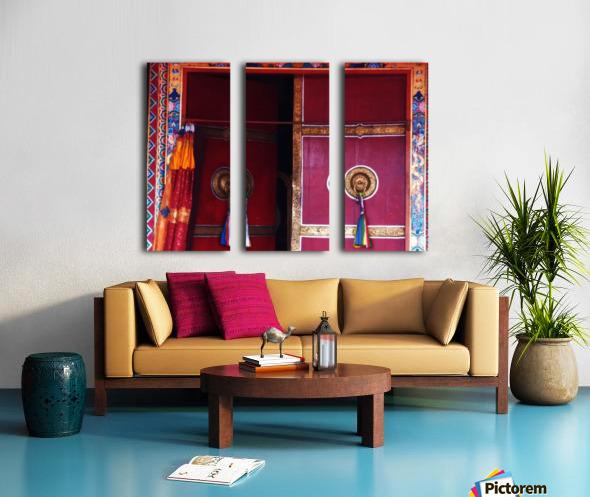 Beautiful door Split Canvas print