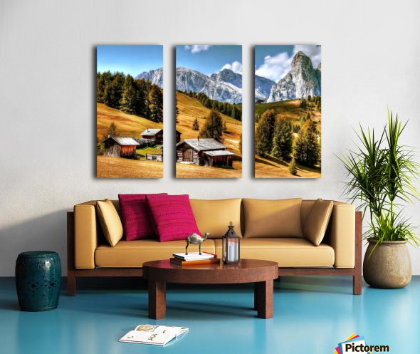 Italy DL_2179605 Split Canvas print
