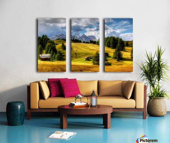 Italy DL_2186050 Split Canvas print