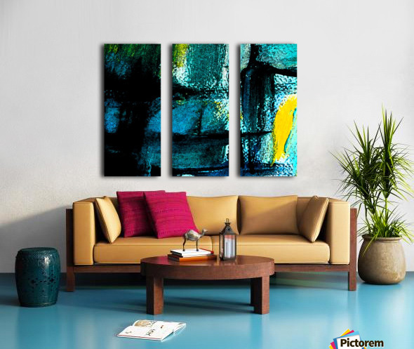 Abstract emotion  Split Canvas print