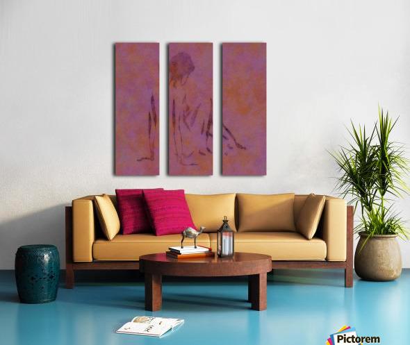 TOUCH Split Canvas print