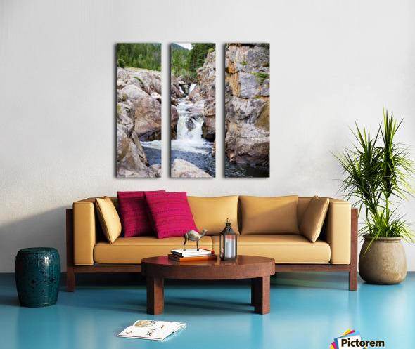 Poudre River Colorado Toile Multi-Panneaux