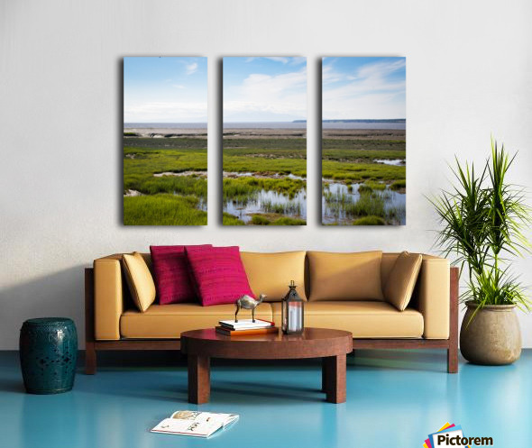 Alaska Scenery - Bay View Split Canvas print