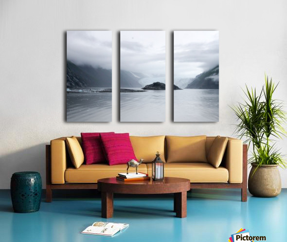 Alaska - Prince William Sound Photo Split Canvas print