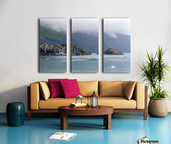 Alaska Scenery Pictures of Icebergs  Toile Multi-Panneaux
