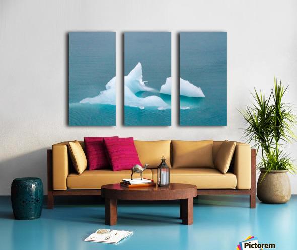 Iceberg Images - Alaska  Toile Multi-Panneaux