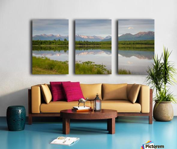 Photos Alaska Mountain Toile Multi-Panneaux