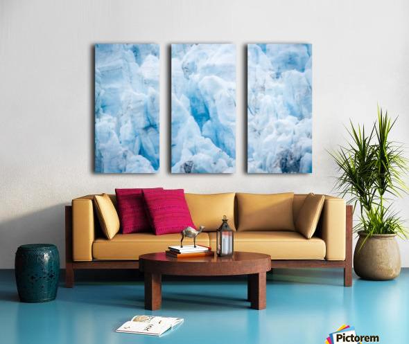 Alaska Gifts - Glacier Photographs Split Canvas print