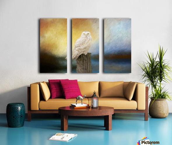 Impressions Split Canvas print