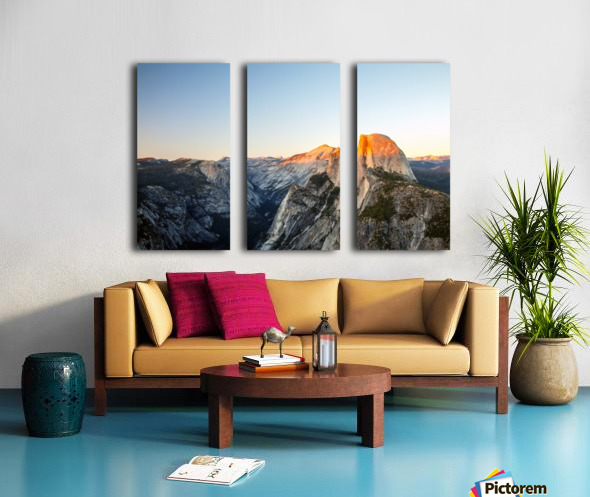 Separated Split Canvas print