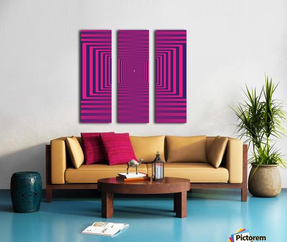 Retro Split Canvas print
