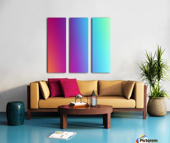 Multicolor Background Split Canvas print
