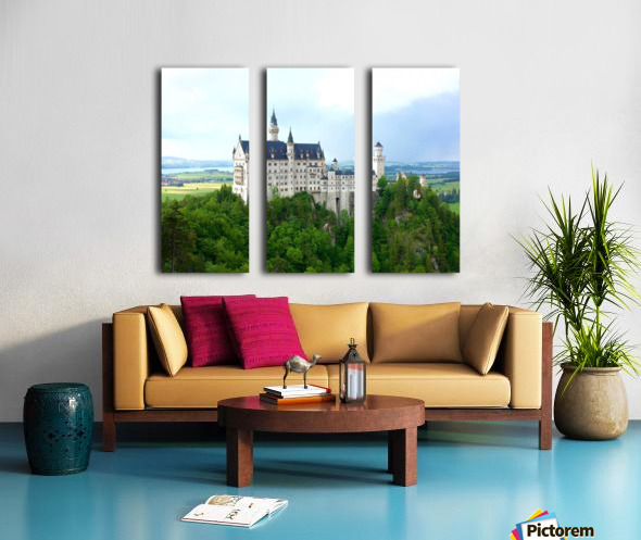 Nueschwanstein Castle Split Canvas print