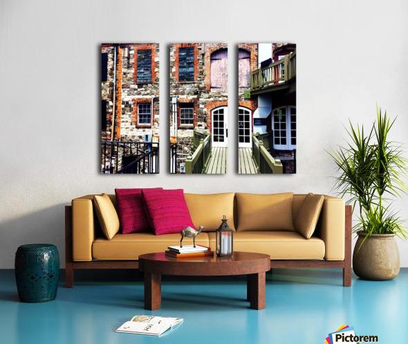 Savannah Split Canvas print