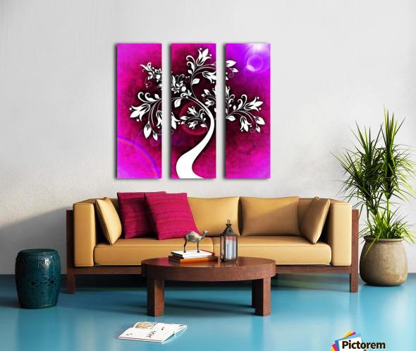 FLOWER TREE 04_OSG Split Canvas print
