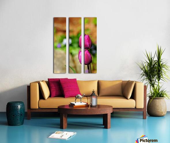 Simple Beauty Split Canvas print