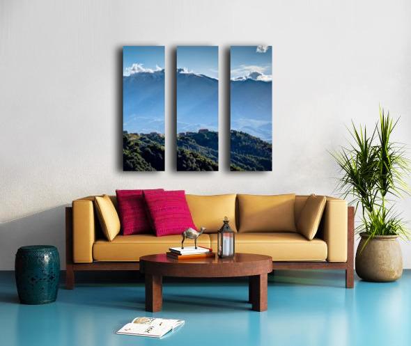 Corsica Split Canvas print