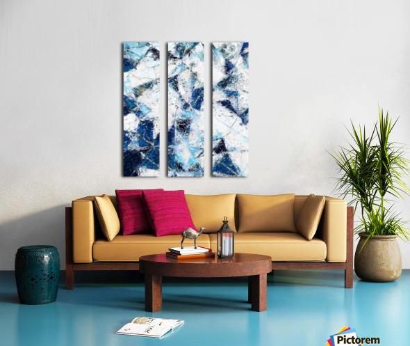 Exploding Panels Split Canvas print