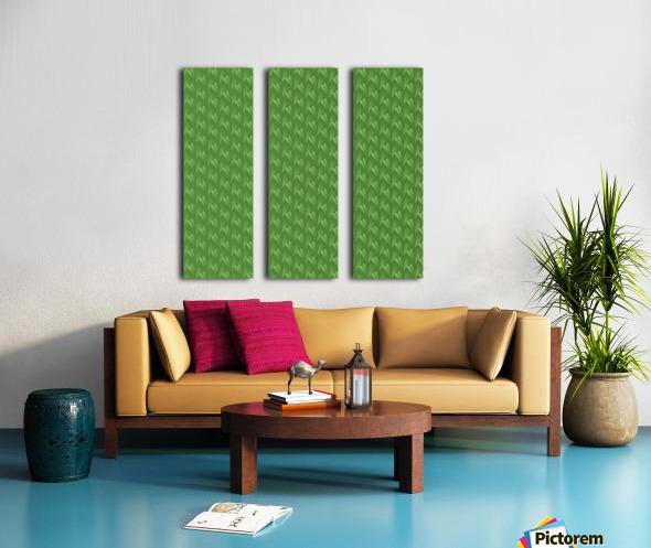 Green Park Split Canvas print