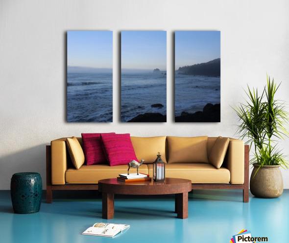 Rocky Point Split Canvas print