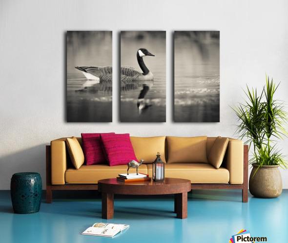 Canada Goose - 2 Split Canvas print