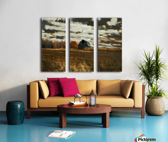 barn um Split Canvas print