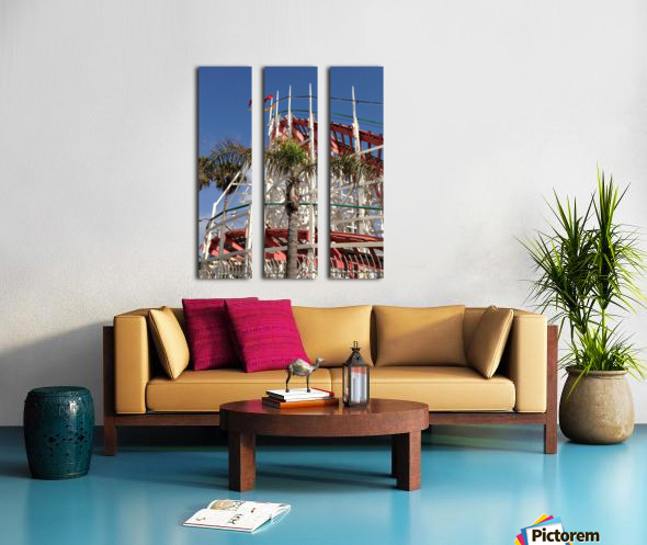 Roll with it. Split Canvas print