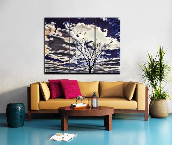 regal tree Split Canvas print