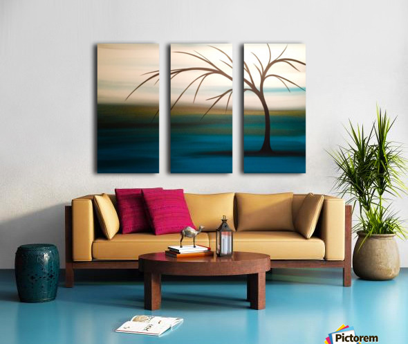 Day Dreaming Split Canvas print