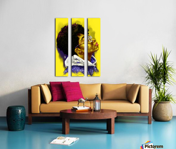 serenity Split Canvas print