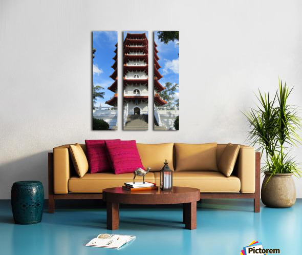 Pagoda Split Canvas print