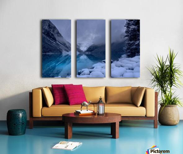 Lake Louise blues Split Canvas print
