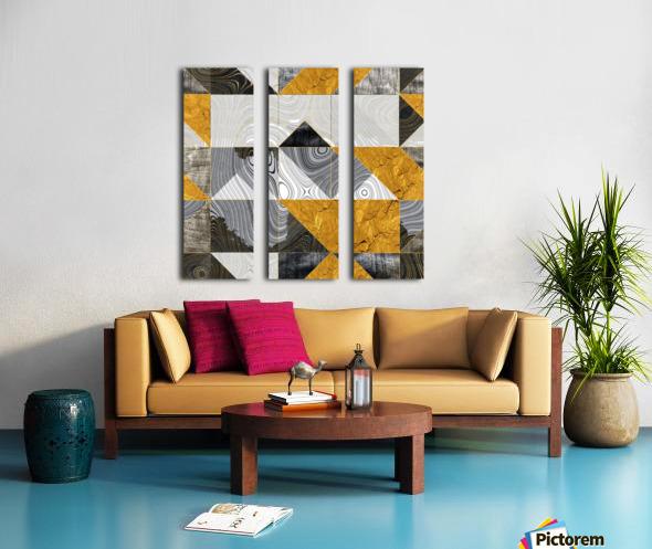 Geometric XXIII Split Canvas print