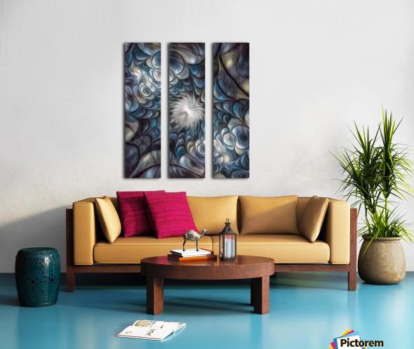 Fractal Design 2 Split Canvas print
