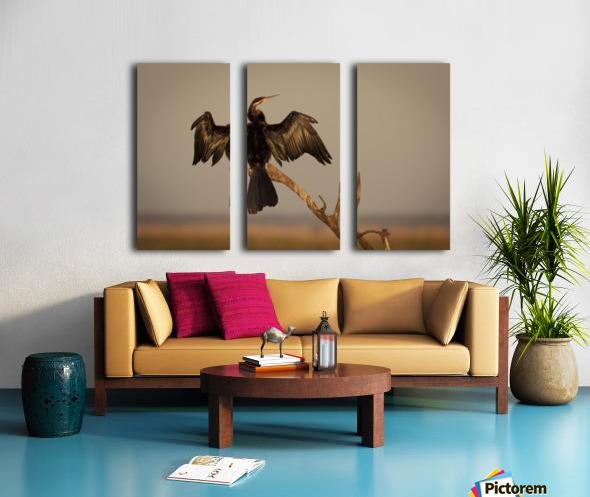 All Wings Open Split Canvas print