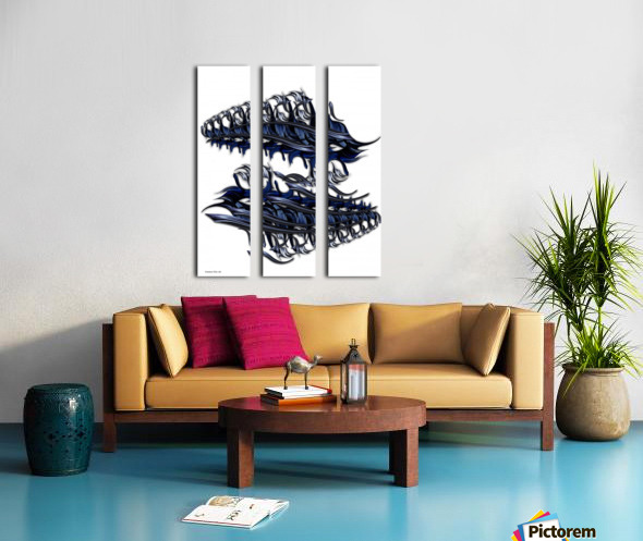 Ode to Aesthetic Ego Split Canvas print