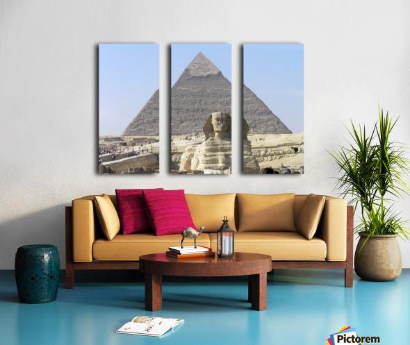 Egypt 3 Split Canvas print
