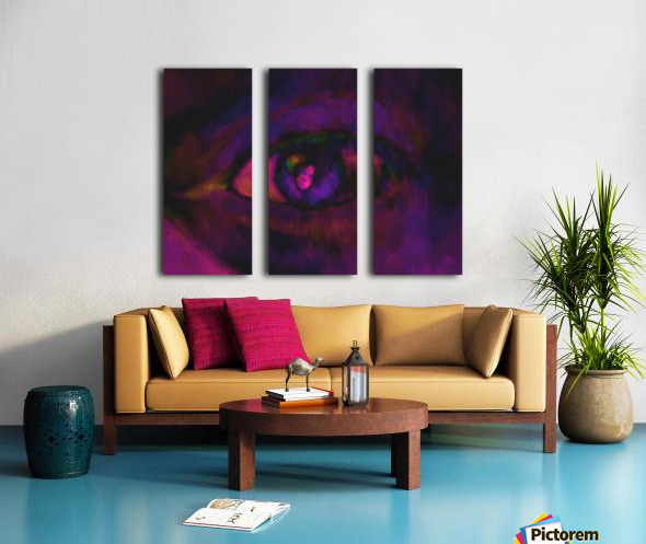 selfie Split Canvas print