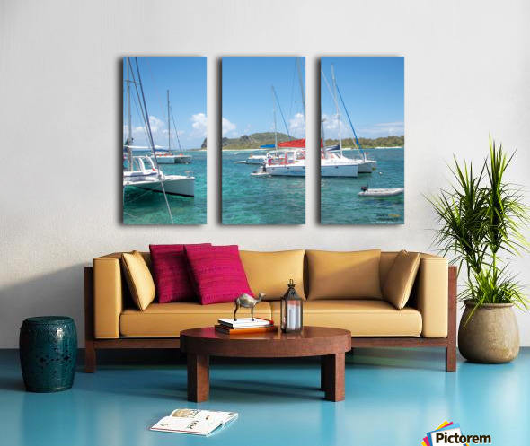 1 66 Split Canvas print
