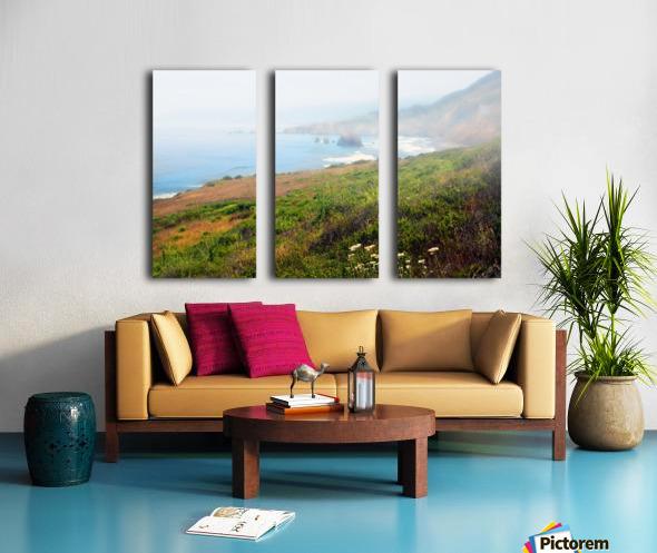 Coastal Views Fog Split Canvas print