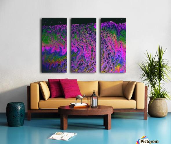 Bubbles Reimagined 55 Split Canvas print