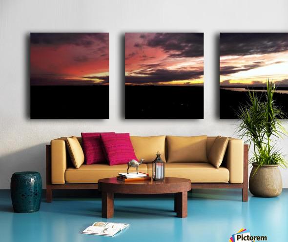 best sun Split Canvas print