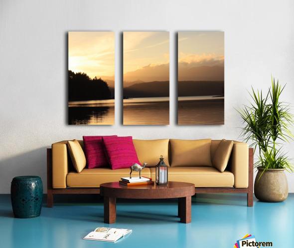 Dewatto glow Split Canvas print