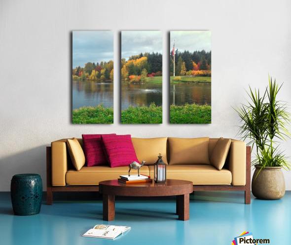 Weyerhaeuser HQ last View Split Canvas print