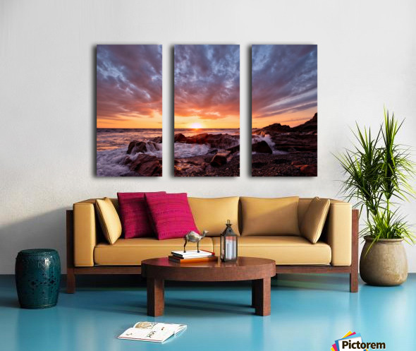 Awash Split Canvas print