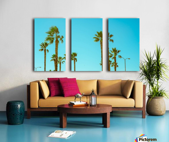 Hollywood Vibes Split Canvas print