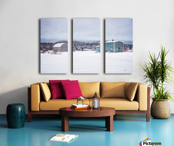 Homestead Split Canvas print