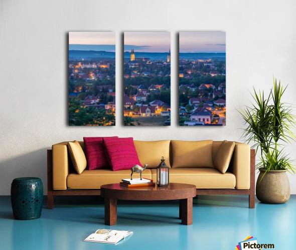 Halberstadt Split Canvas print